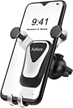 Autkors Car Phone Holder, Air Vent Car Phone Mount 360 Degrees Rotation Auto Lock Cell Phone Cradle Compatible for Mobile Phones from 4.7 to 6.5 inches.