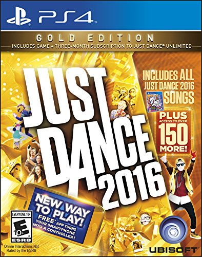 Just Dance 2016 (Gold Edition) PlayStation 4