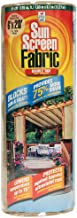 Easy Gardener Sun Screen Fabric (Reduces Temperature Up to 15 Degrees, Provides 75% More Shade) Tan Shade Fabric, 6 Feet x 20 Feet