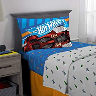 Hot Wheels Kids Twin Bedding Sheets Set
