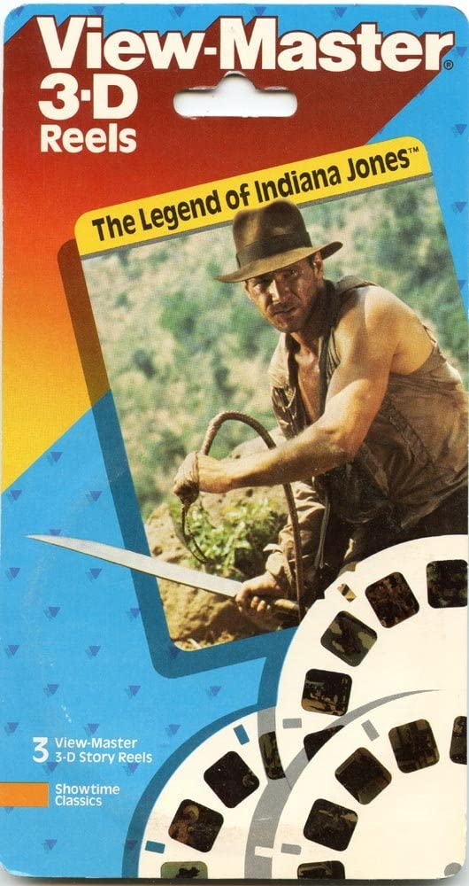 Large discharge sale Regular store The Legend of Indiana Jones - 3 Reels New Classic ViewMaster