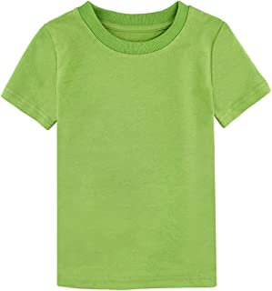 solid color t shirts kids