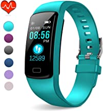 PUBU Fitness Tracker, IP67 Waterproof Fit Watch with Heart Rate Monitor,Sleep Monitor,..