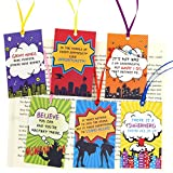 Super Bookmarks for Kids Students Home Reading Exchange Valentines Gifts Teacher Family Rewards Pack of 24