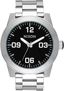 Corporal SS A346. 100m Water Resistant XL Men's Watch (48mm Watch Face. 24mm Stainless Steel Band)