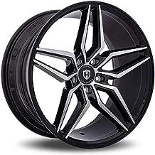Curva C25 Custom Wheel - Black with Machined Face Rims - 20