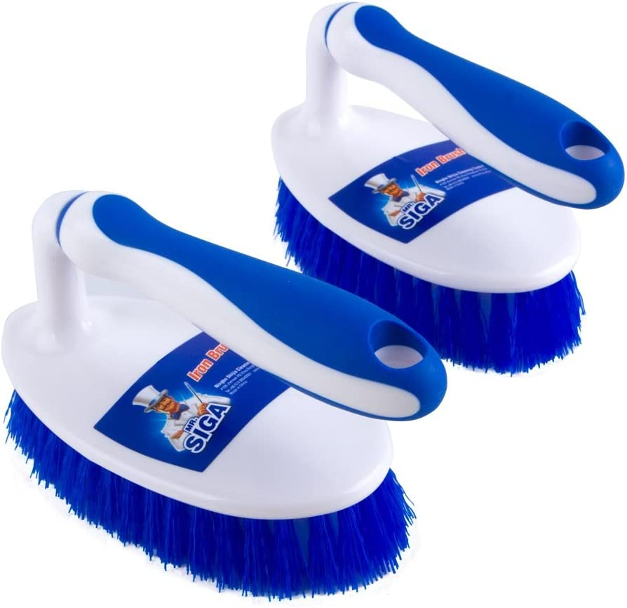 MR.SIGA Heavy Duty Scrub Brush Grip Comfortable with B Max 85% security OFF Cleaning