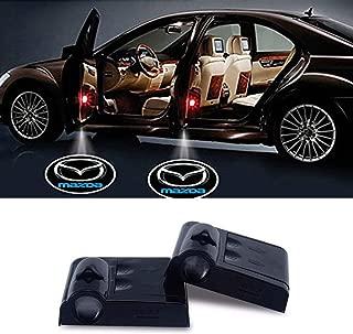 Mazda Wireless Car Door Led Welcome Laser Projector,No Drill Type Logo Light for mazda 2, 3,5,6, CX-5,CX-7,CX-8,M6, MX5,RX7, RX8, A8, CX9, MX6,R3, M2 M3,M5, etc.