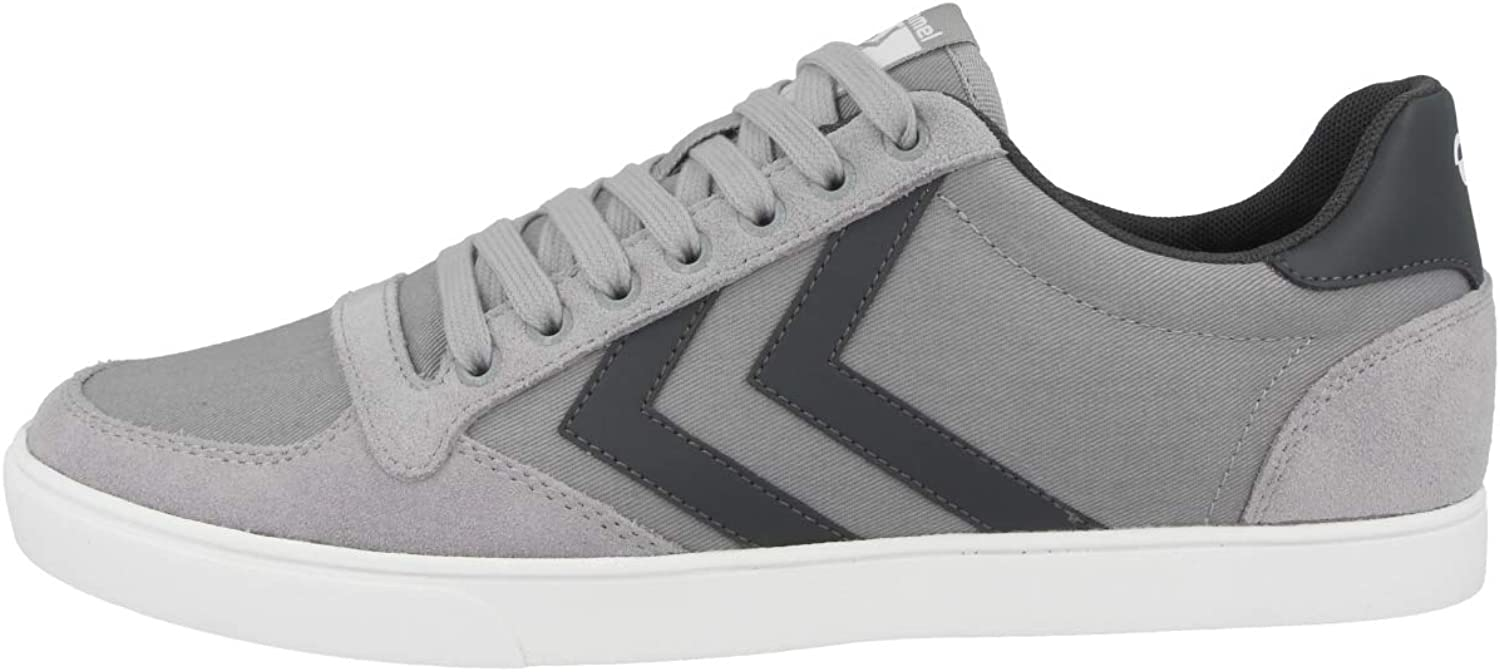 Hummel Adults' Slimmer Stadil Canvas Low Top Sneakers