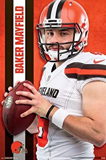 Baker Mayfield - Cleveland Browns - NFL Poster 22 inches x 34 inches