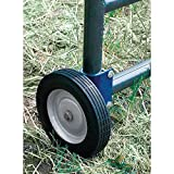 SpeeCo Farmex S16100600-GL161006 Gate Wheel; Helps to prevents gate sagging; Allows gate to open and close with ease; Fits round tube gate 1-5/8' to 2' O.D.; Easy installation