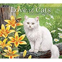 LANG Love of Cats 2021 壁掛けカレンダー (21991001926)