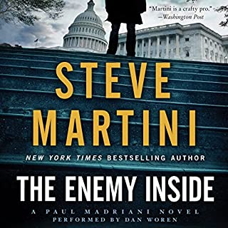 The Enemy Inside audiobook cover art