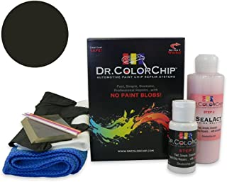 Dr. ColorChip Land-Rover Range Rover Automobile Paint - Sumatra Black Pearl 797/PBF - Squirt-n-Squeegee Kit