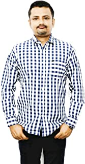 Identity 100% Cotton Casual Shirts (X-Large)