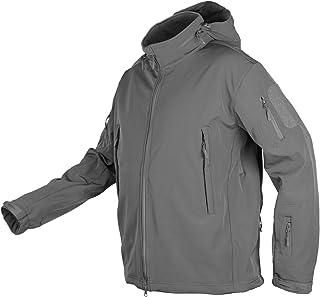 Sponsored Ad - CHEXPEL Men's Outdoor Tactical Jackets Water-Resistant Winter Windbreaker Fleece Lined Packable Hood Jacket...