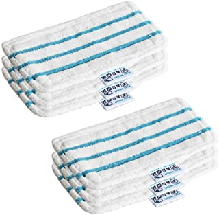 Anyasen Lingette Microfibre Steam Mop Chiffrons Lingettes Microfibres Chiffrons Remplacement Tampons de Nettoyage de Recha...