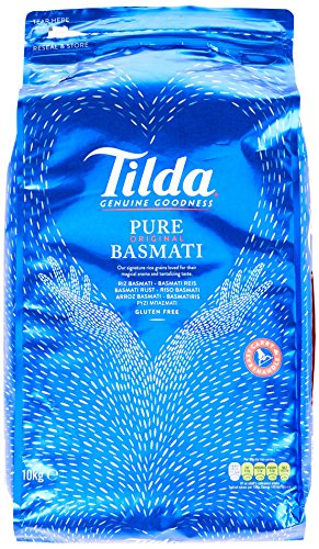Tilda Pure Original Basmati Rice, 1er Pack (1x10kg)