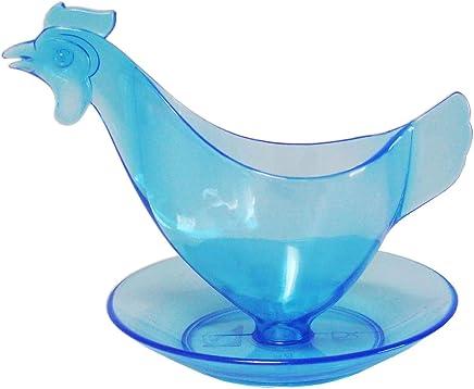"""Preisvergleich für Eierbecher """"Huhn"""" leuchtblau- Der Kult-Eierbecher - Sonja-PLASTIC - Made in Germany"""