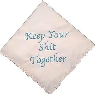 blue handkerchief bride