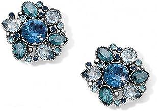 Brighton Divine Feminine Post Earrings - SILVER-BLUE