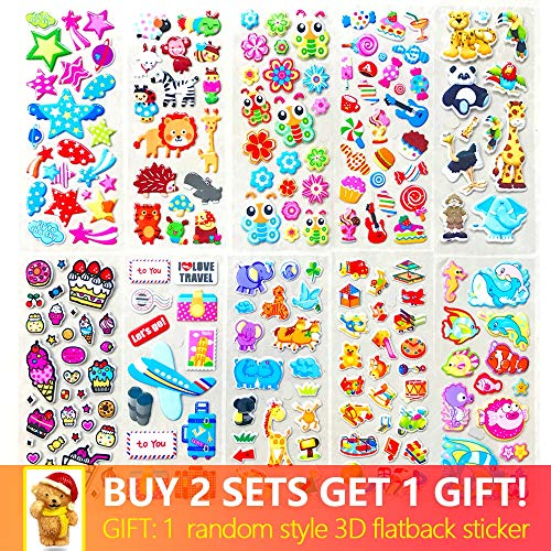 BLOUR Blätter Verschiedene süße Haustiere Tiere Snacks Desserts DIY Cartoon Aufkleber Sammelalbum Spielzeug Kaufen 2 Holen Sie Sich 1 kostenlose Flatback Geschenke 10 Verschiedene