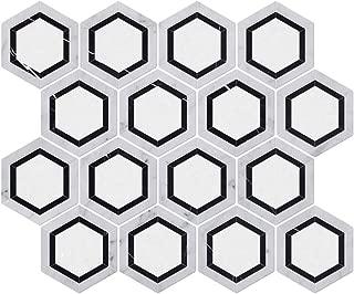 Best black marble hexagon tile Reviews