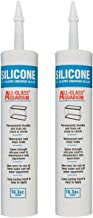 (Pack of 2) Aqueon Silicone Clear 10.3 Ounce each