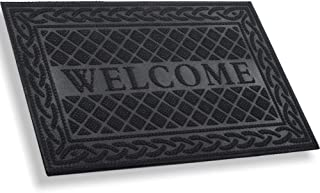 large rubber welcome mat