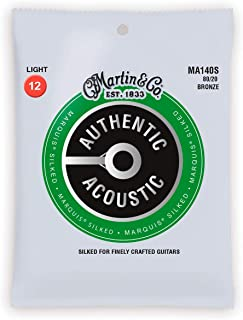 Martin Authentic Acoustic Guitar Strings - Marquis Silked
