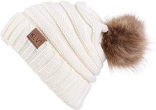 HULKAY Unisex Caps Premium Soft Stretch Winter Trendy Warm Wool Knitted Hat Beanie Skull
