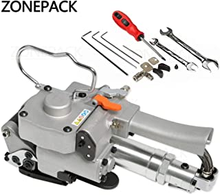 ZONEPACK Pneumatic Strapping Tool Handheld Package Packing Machine for PP and PET Portable Strapping Machine 1/2Inch to 3/4Inch (13-19mm)