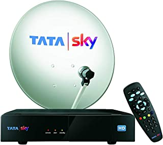 TATASKY HD Box Inclusive 3 Months Dhamaka Pack and HD Access (Black, TSK44)