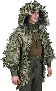 Giena Tactics Ghillie Suit Alligator 3D Russian Sniper Coats/Viper Hoods