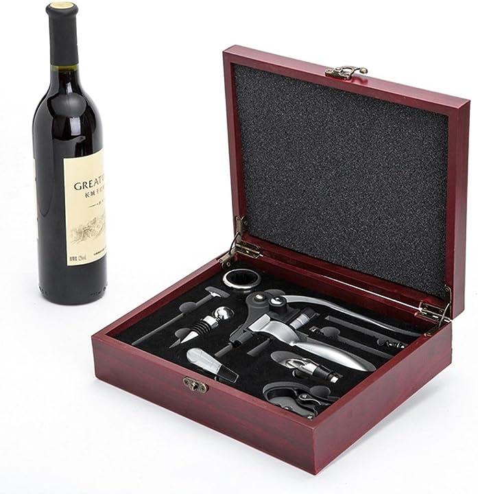 Kit apribottiglie vino con 9 pezzi - cooko 6373222_SML