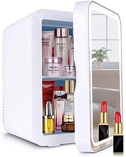 Mini Kühlschrank 8 Liter Kühlschrank - AC/12V DC Tragbarer thermoelektrischer Kühler und Wärmer für Küche, Büro, Schlafzimmer, Hotels kleine Wohnungen und Reisen