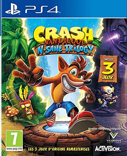 Crash Bandicoot N.Sane Trilogy 2.0 - PlayStation 4 [Edizione: Francia]