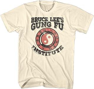 Bruce Lee - - Camiseta Ene Fan Gung Fu de los hombres