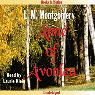 Anne of Avonlea     Anne of Green Gables, Book 2              By:                                                                                                                                 L. M. Montgomery                               Narrated by:                                                                                                                                 Laurie Klein                      Length: 9 hrs and 20 mins     17 ratings     Overall 4.3