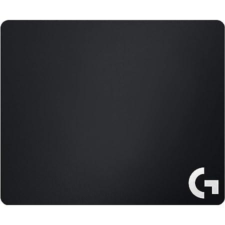 Logitech G240 Tappetino Mouse Gaming in Tessuto, Mouse Pad 340 x 280 mm, Spessore 1 mm, Attrito Moderato, Superficie Uniforme, Base in Gomma Stabile e Confortevole, Arrotolabile, Nero