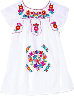 girls mexican peasant dress