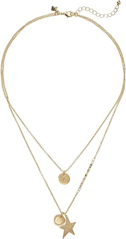 Rebecca Minkoff - Medallion Layered Pendant Necklace