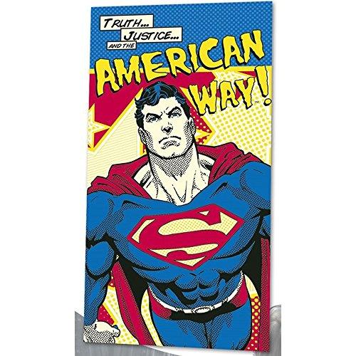 Kids Licensing - dc16014 - Toalla de Playa - Superman