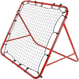 Keliour Fotboll nät barn fotboll träning nät studsnät för vuxna inomhus utomhus träning övning för barn fotboll träning (f...