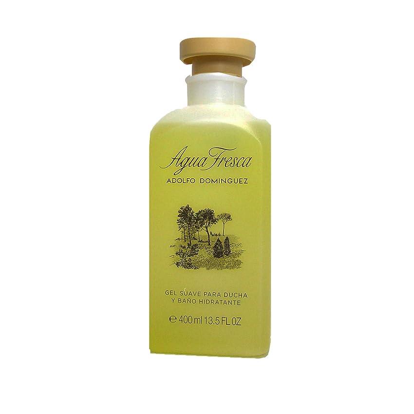 悪いセッション鉄Adolfo Dominguez AGUA FRESCA shower gel 400 ml [海外直送品] [並行輸入品]