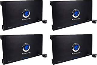Planet Audio 2600W 2-Channel Car Amplifier Amp AC26002 & Remote (4 Pack)
