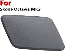 Windscreen Wiper Blow Can Strainer 1Pcs Car Right Hand Headlight Washer Jet Cover Cap Fit For Skoda Octavia MK2 N/S/F Replacement Part