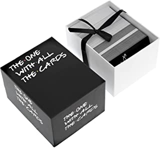 The One with All The Cards Game for Friend TV - Box Against The Friend Card Games Your Party Games Table Card Games (Black)