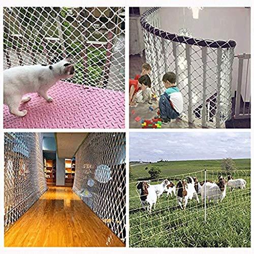 Valbeschermingsnet voor Alta Quota valbeschermingsnet voor balkon, binnenshuis, kattennet, inkijkbeschermingsnet voor trappen, veiligheidsnet voor kinderen, kinderbeveiliging, dieren niet