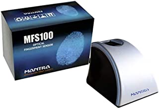 Yukonics-Mantra MFS-100 Biometric Finger Print C-Type Scanner with 1 Year RD Services